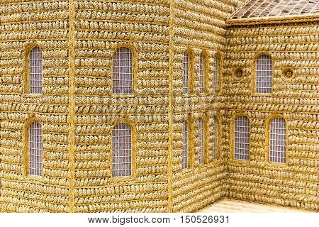 Wheat Model Church Art