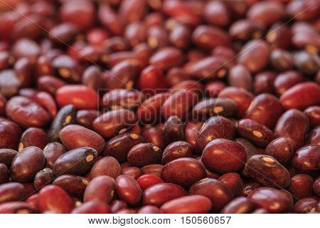 red adzuki beans photo, asian organic food