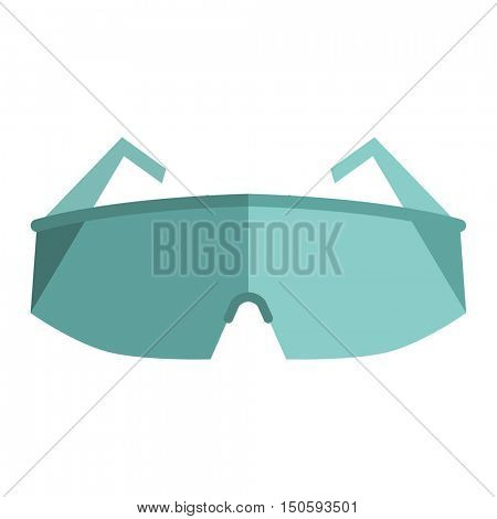 Glasses, eye protection illustration