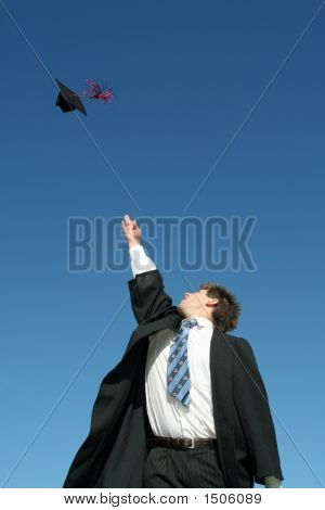 Man On Graduation Day