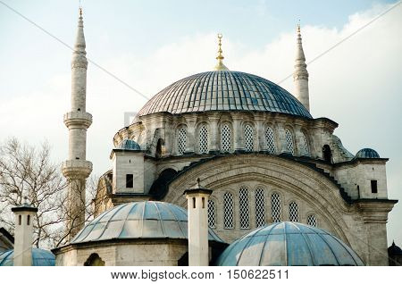 Beautiful image of one of Istanbul mosques
