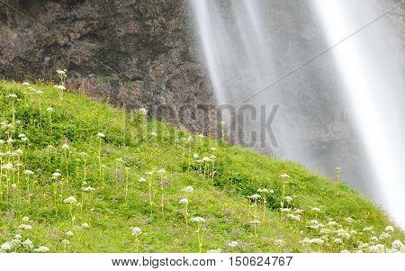 Seljalandsfoss - Iceland - Detail