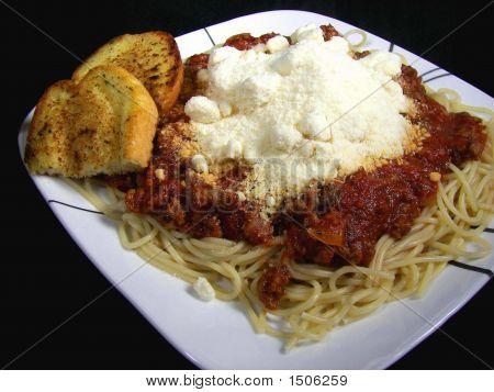 Spaghetti-Essen