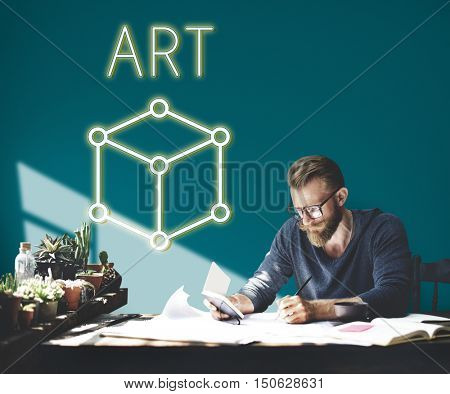 Art Notion Scheme Thought Vision Visual Graphic Concept