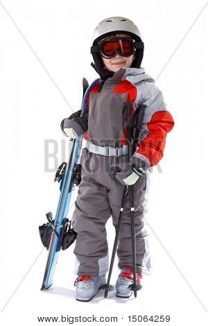 Little Skier