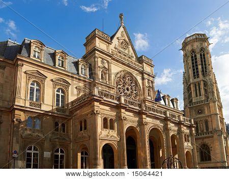 The Church of Saint-Germain-l'Auxerrois, Paris, France