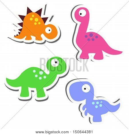 collection of cute stickers. Set of funny badges for clothes. Baby vector illustration. The pattern of children's toys. cute vector illustration