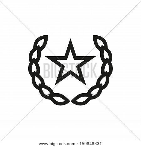 Socialism communism emblem icon on white background Created For Mobile Infographics Web Decor Print Products Applications. Icon isolated. Vector illustration