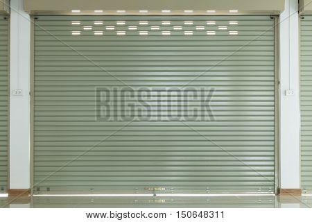 Aluminium Steel Metal Roller Shutter Door In Warehouse Building