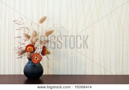 ikebana on table