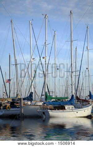Tethered Sailboats 2