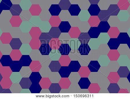 Abstract background hexagon. Vector illustration. background hexagon