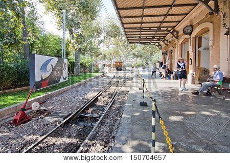 Soller Train Station Mallorca