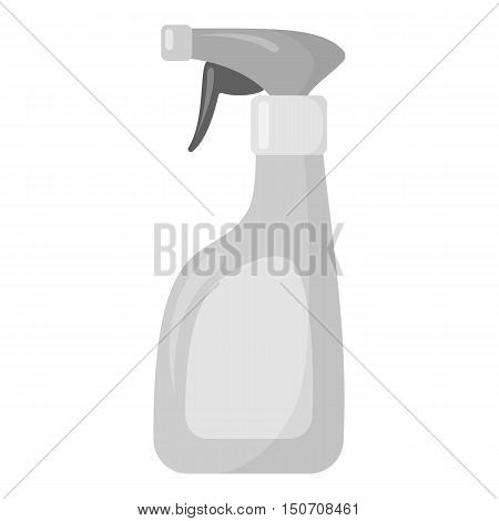 Cleaner spray monochrome icon. Illustration for web and mobile.