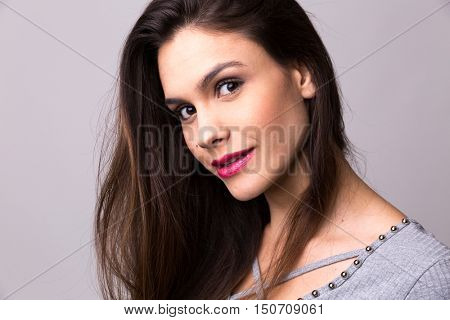 Portrait of a latina girl