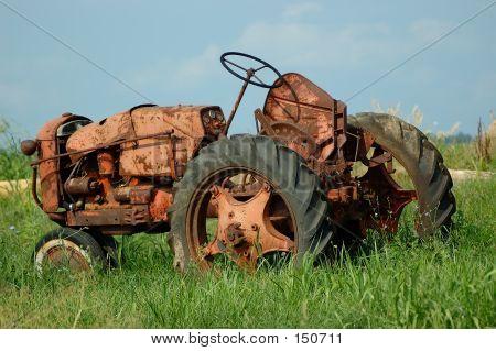 Vintage Farm Tractor 2