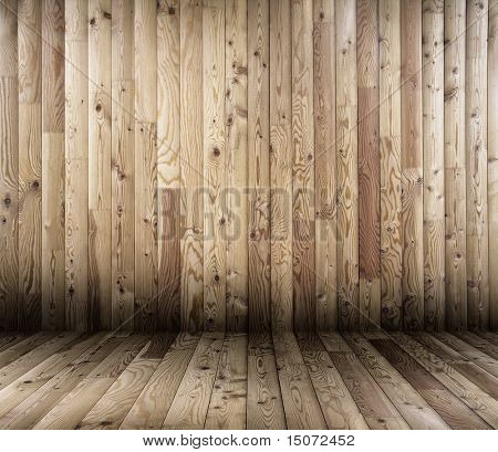 old wooden interior