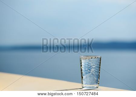 Glass With Pure Water
