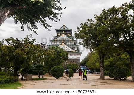 Holiday in Japan -  Osaka Castle view
