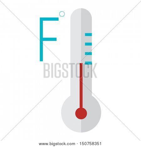 Thermometer temperature vector illustration
