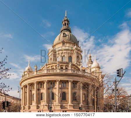 St. Stephen's Basilica is a Roman Catholic basilica in Budapest Hungary. It is named in honour of Stephen the first King of Hungary.