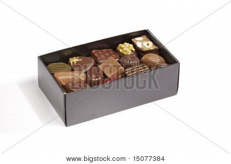 Isolated Chocolate Box