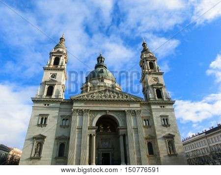 St Stephen's Basilica in Budapest at Hungary