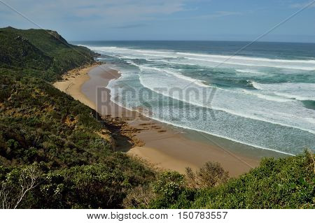 Castle Cove lookout on the Great Ocean Road in Victoria, Australia