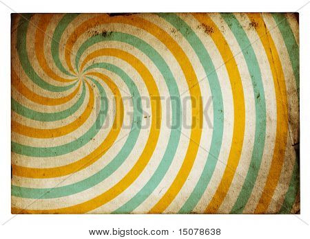 retro grunge background paper isolated on white background with clipping path