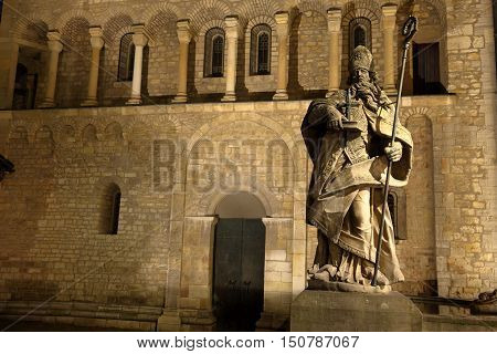 Saint Boniface at the cathedral of Mainz