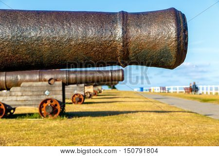 Cannons On Gun Hill