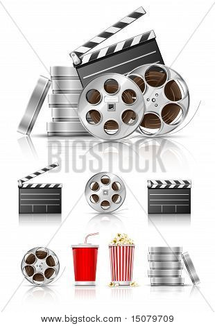 Set Of Objects For Cinematography