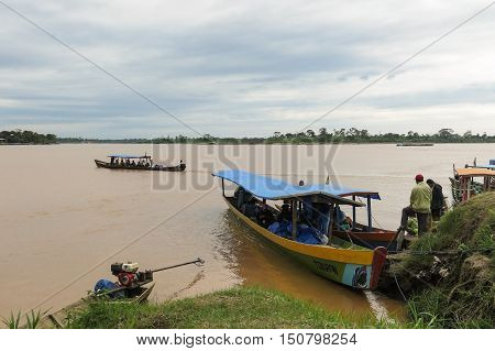 Boot On A River In The Jungle