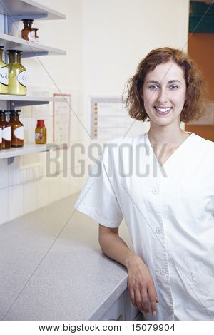 Pharmacist In Lab
