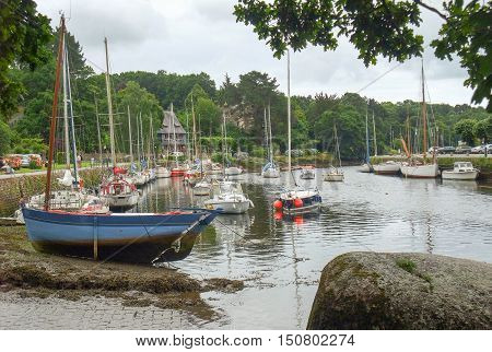 Pont-aven In Brittany