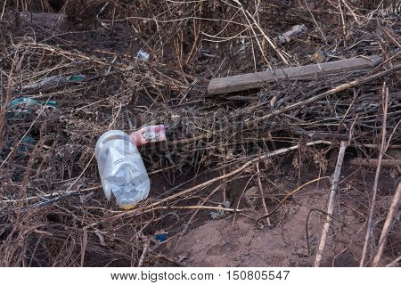 polluted environment water, sewage, waste, dirty, drain