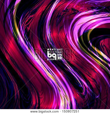 Vector design colored abstract background futuristic illustration glitch infinity