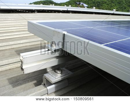 Mounting Kits for Solar PV Rooftop Installation