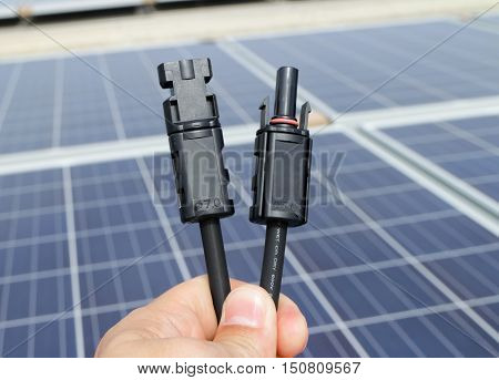 Connectors for Solar PV Modules Male and Female
