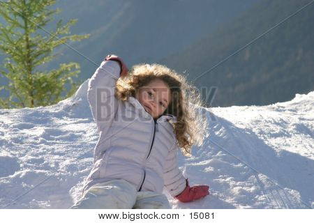 Throwing A Snow Ball