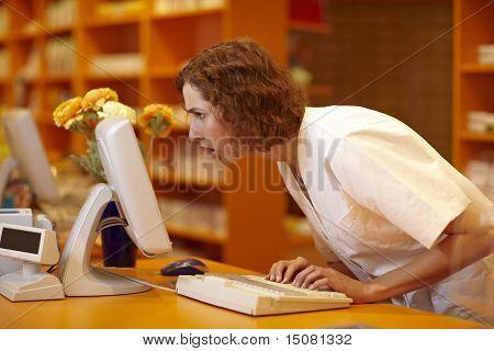 Surprised Pharmacist