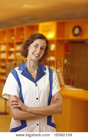 Pharmacist With Crossed Arms