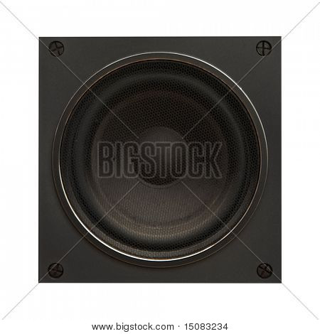 isolated on white Background-Sound-Lautsprecher