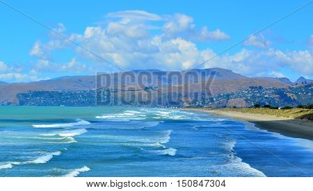 New Briton Beach Christchurch - New Zealand