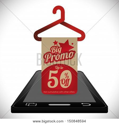 e-commerce deals sale icons vector illustration design