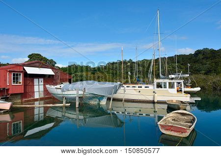 Old Boat Shed - New Zealand