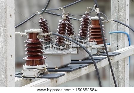 Outdoor High Voltage Instrument Transformers for Revenue Meter