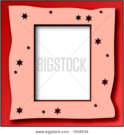 Star Frame Red.Eps