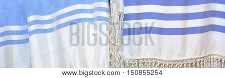 Tallit Abstract Background Texture