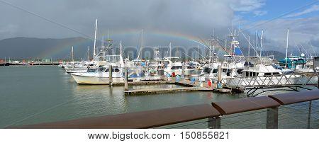 Cairns Marlin Marina In Queensland Australia